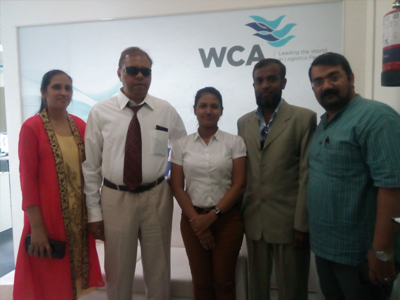 Meeting with World Cargo Alliance